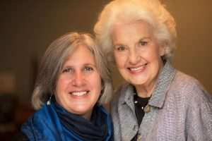 Author Sue Carroll Duffy and Illustrator Jane Woodruff Carroll